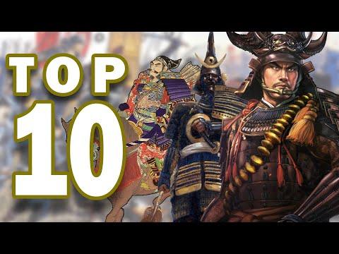 Top 10 Greatest Samurai Warriors