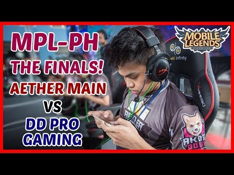 MPL-PH Grand Finals! Game 2 | Aether Main vs DD Pro Gaming - Mobile Legends