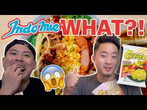 THE BEST WAY TO EAT INDOMIE MI GORENG! The Best Indonesian Noodles Ever // Fung Bros