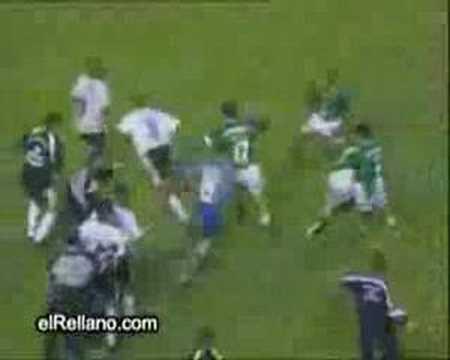 Fútbol y Pelea