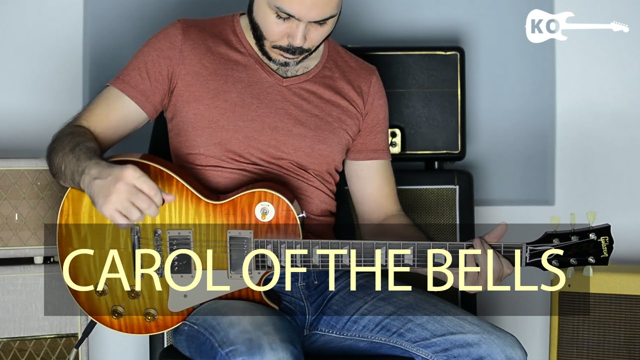 Carol Of the Bells – Electric Guitar Cover by Kfir Ochaion