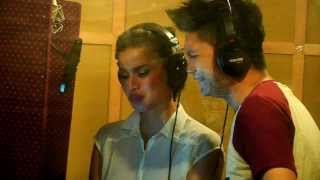 Anne Curtis and Vhong Navarro Recording