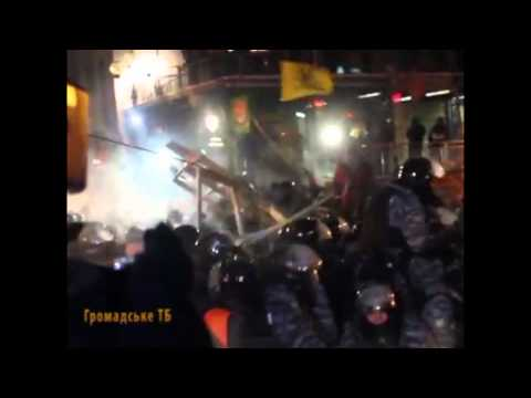 Вот какие выводы сделал Янукович. Штурм майдана 10-11 декабря (видео)