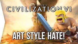 Video Civilization VI ► Why all the HATE on Civ 6's Art Style / Graphics? MP3, 3GP, MP4, WEBM, AVI, FLV Maret 2018