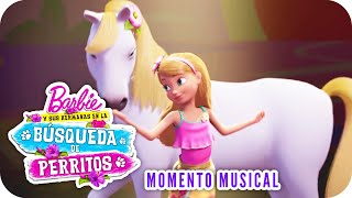 Live In The Moment | Video Musical (Competencia)| Barbie y sus hermanas en la
