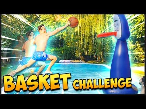 BASKET CHALLENGE in PISCINA! I FAN DECIDONO. w/@Ones