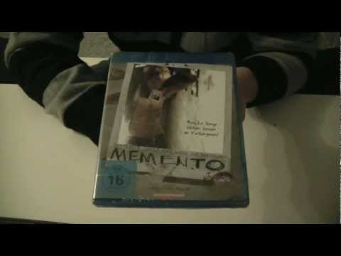 Memento - Blu ray unboxing