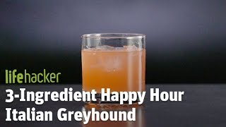 Delicious cocktail — Italian GreyhoundSubscribe to Lifehacker:  https://goo.gl/3rNmzw Visit us at: http://www.lifehacker.com/Like us at: https://www.facebook.com/lifehackerFollow us at: https://twitter.com/lifehackerListen at: https://soundcloud.com/lifehacker Watch more from Fusion friends:Fusion: http://fus.in/subscribeF-Comedy: https://goo.gl/Q27Mf7Fusion TV: https://goo.gl/1IbZ1BGizmodo: https://goo.gl/YTRLAEKotaku: https://goo.gl/OcnXv7Deadspin:  https://goo.gl/An7N8gJezebel:  https://goo.gl/XNsnCJIo9:  https://goo.gl/ismnzPJalopnik:  https://goo.gl/u7sDEkSploid:  https://goo.gl/4yq2UYThe Root: https://goo.gl/QMOjBE