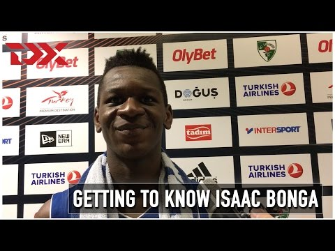Getting to Know: Isaac Bonga (ANGT Kaunas)