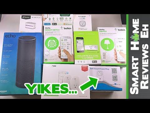 Top 5 Amazon Alexa Smart Plugs - Belkin vs. iHome vs. iDevices vs. TPLink vs. Amake