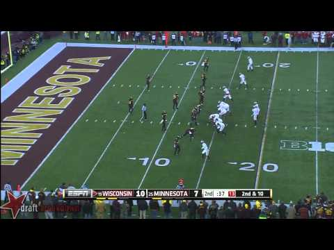 Ra'Shede Hageman vs Wisconsin 2013 video.