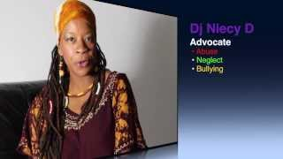 Dj Niecy-D Stands Against Child Abuse