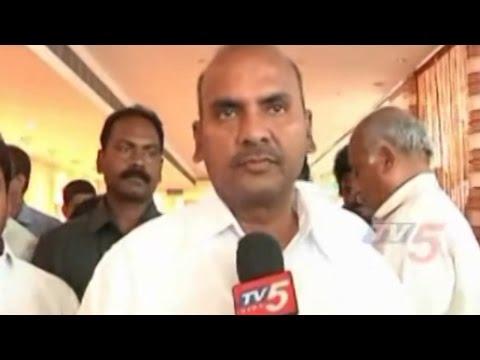 Prathipati Pulla Rao Talks to Media over Compensation for Hudhud Farmers : TV5 News