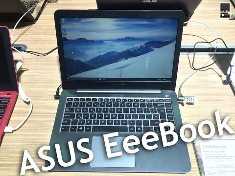 Asus eeebook - доступные windows-компьютеры с usb type-c  computex 2015