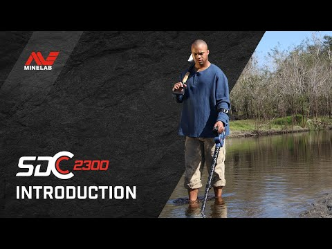 Introducing Minelab's SDC 2300 Compact Waterproof Gold Detector