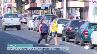 Termina greve do transporte coletivo em Garça