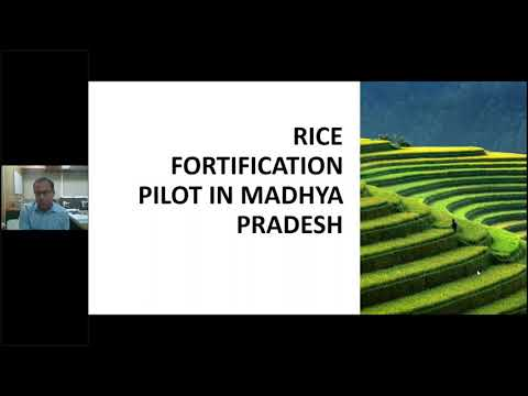 FSSAI Consultation with States on Rice Fortification Madhya Pradesh.