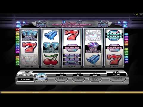 Retro Reels Diamond Glitz ™ free slot machine game preview by Slotozilla.com