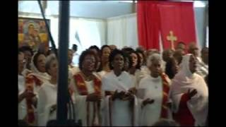Timket in Los Angeles 2012 with mother choir