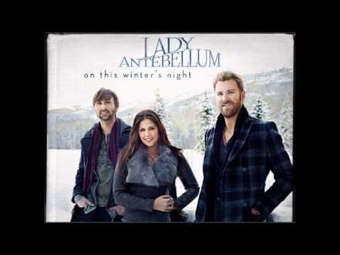 Tekst piosenki Lady Antebellum - Silent Night (Lord Of My Life) po polsku