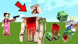 Minecraft: IMPOSSIBLE TOWER DEFENSE! (1000s OF MOBS VS YOU!) Modded Mini-Game by PopularMMOs