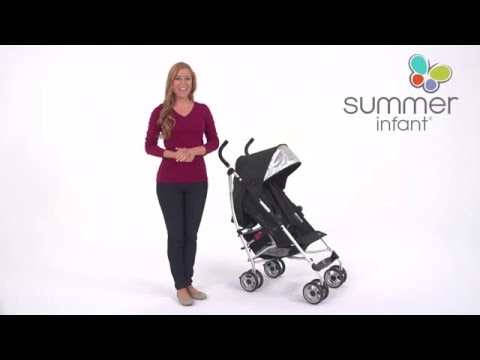 Summer Infant 3D lite Convenience Stroller Product Video