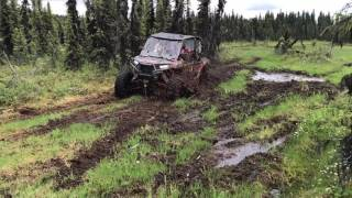 8. Polaris RZR XP 1000 4 seater ripping up the Skeg
