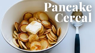 How to Make Pancake Cereal | Chowhound at Home — Cook #WithMe by Chowhound