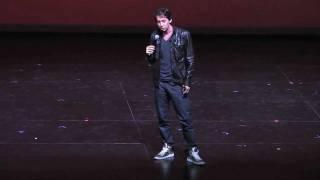 Iranian Comedian Max Amini In FARSI - UCLA (Part 2)