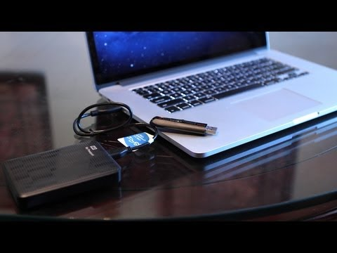 USB 3 - Free $2 MP3 Credit! http://goo.gl/8hNhj With USB 3.0 featured on the new 2012 MacBook Pro and MacBook Air models, I wanted to give a real world demo of how U...