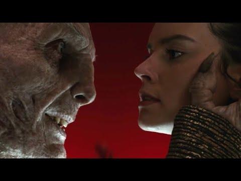 Snoke VS Rey and Kylo Ren epic scene | Star Wars: The Last Jedi (видео)