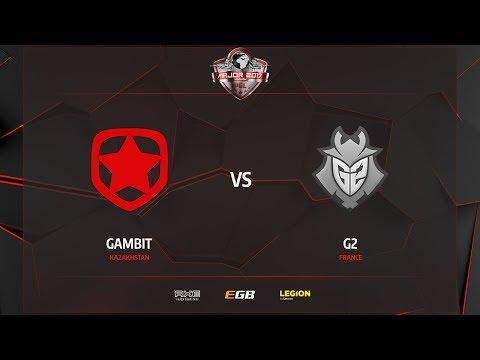 Gambit vs G2, cache, PGL Major Kraków 2017
