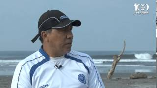 Rudis Gallo listo para el premundial de fútbol playa