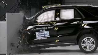 Top marks for the 2014 Mercedes M-Class at the American IIHS crash test