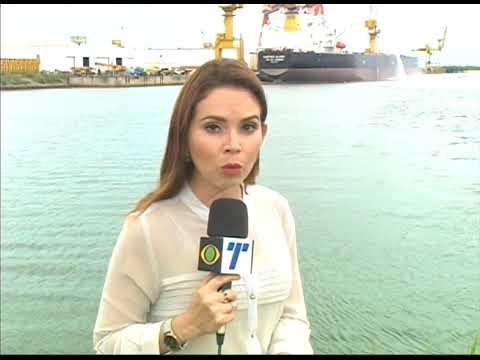 [JORNAL DA TRIBUNA] Ministro dos transportes visita o Estaleiro Atlântico Sul