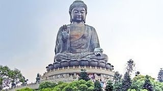 Tian Tan Buddha and Po Lin Monastery in Hong Kong 香港