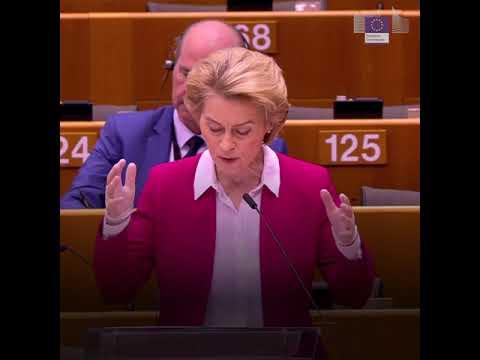 Ομιλία της Προέδρου κ. Ούρσουλα φον ντερ Λάιεν στο Ευρωπαϊκό Κοινοβούλιο | 26/03/2020