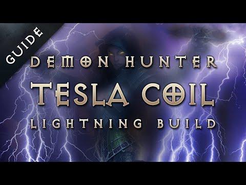 Best 2.1 Demon Hunter Build & Gear: Tesla Coil Lightning Marauder - Diablo 3 Reaper of Souls Guide