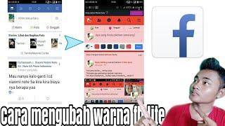 Inilah cara mengubah warna fb lite #FB_lite_indonesia
