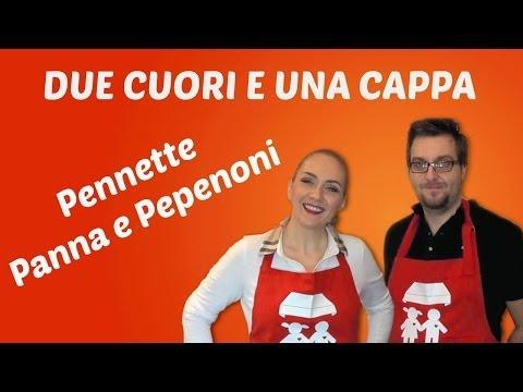 pennette con panna e peperoni - ricetta