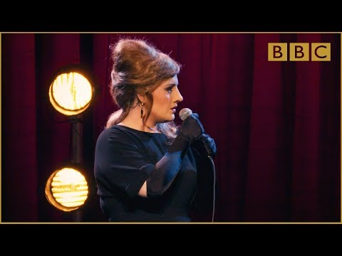 Adele at the BBC: When Adele wasn't Adele... but was Jenny! (видео)
