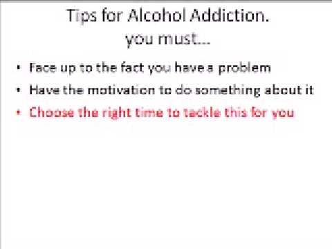 Alcohol Addiction Abuse and Binge Drinking Help Tips