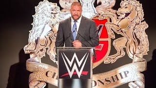 At an historic press conference at the O2 Arena in London, Triple H revealed that WWE's first-ever United Kingdom Champion will be crowned this January. More...