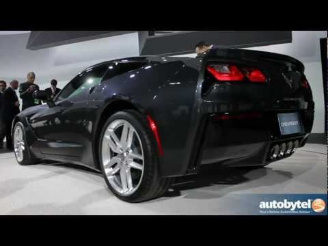 2014 Chevrolet Corvette Stingray At The 2013 Detroit Auto Show