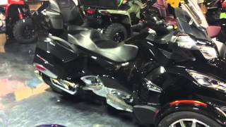 9. 2016 Can-Am Spyder RT Limited in Black