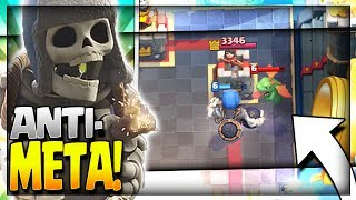 Giant Skeleton Strategy - Anti-Meta Giant Skeleton Deck for Legendary Arena 11, Hog Mountain Arena 10 and Jungle Arena 9. Giant Skeleton Graveyard Deck!~~~Free Gems: http://mistplay.co/shane ~~ Invite Code: ShaneWhat do you guys think is the best Giant Skeleton Deck? Let me know in the comments!Click here to Subscribe: http://www.youtube.com/channel/UCTsFqvFocRsP6YmdzPdHwCw?sub_confirmation=1Follow me on Twitter: https://twitter.com/CLASHwith_SHANEJOIN MY CLANS:Clan 1: CHILLwithSHANEClan 2: CLANwithSHANEIf you enjoyed the video, please like and subscribe. New Clash Royale Content every day!Clash Royale  Clash Royal Gameplay & Strategy  Clash Royale Tips Tricks GuidesIntro Music: Jetta - I'd Love to Change the World (Matstubs Remix)Outro Music: Hey Now by MK2Thanks for watching! Have an awesome day!
