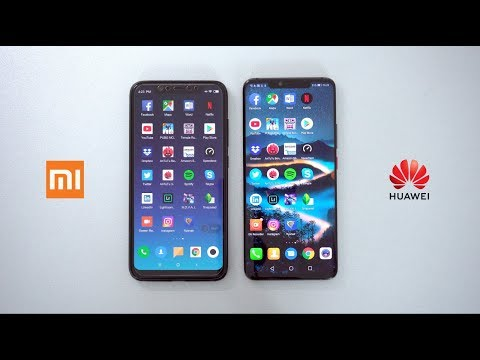 Huawei Mate 20 Pro Vs Xiaomi Mi 8 | SPEED TEST 🔥