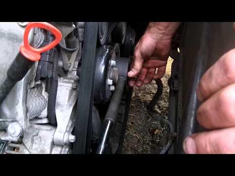 Mercedes w208/w210/w163/w203..etc. V6 harmonic balancer/dampener  replacement