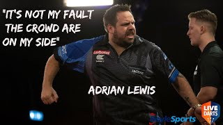 "Adrian Lewis on Josh Payne incident: ""It's not my fault the crowd are on my side"""