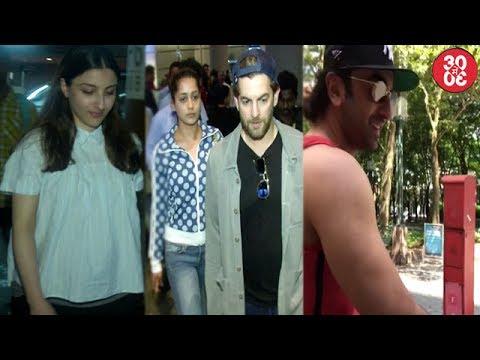 Soha Ali Khan,Huma & Neil Snapped At The Airport |